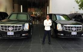 Cặp đôi The Beast hộ tống Obama cập bến Việt Nam