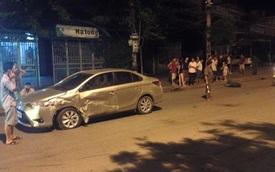 Quảng Ninh: Mazda BT-50 lấn làn tông vào Toyota Vios, cả hai xe hư hỏng nặng