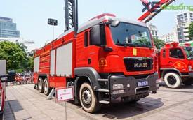 Chiêm ngưỡng xe chữa cháy hiện đại nhất Hà Nội