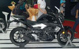 Yamaha MT-03 bất ngờ xuất hiện tại triển lãm xe máy Việt Nam 2016