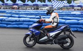 Yamaha NVX 155 bất ngờ xuất hiện tại Bình Dương