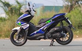Yamaha NVX 155 đầu tiên tại Việt Nam lên bộ áo Movistar