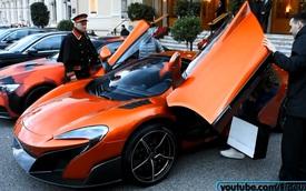 """Vua của Europa League"" Falcao lái McLaren 675LT Spider tại thiên đường siêu xe"