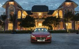 Đi du lịch Phú Quốc, được đưa đón bằng xe thể thao hạng sang Maserati