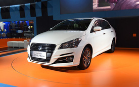 Sedan cỡ nhỏ Suzuki Ciaz 2017 được chốt giá, chỉ từ 324 triệu Đồng