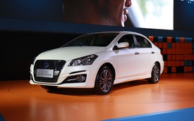 Sedan giá rẻ Suzuki Ciaz 2017 chính thức được vén màn