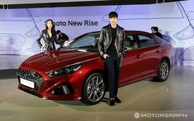 Hyundai Sonata 2018 chính thức ra mắt, cạnh tranh với Toyota Camry mới