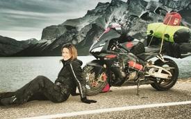 Làm quen với cô gái một mình đi vòng quanh thế giới bằng Honda CBR600RR