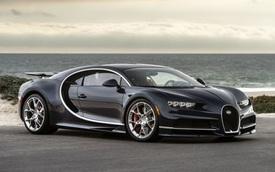 Lốp của Bugatti Chiron không thể chịu được vận tốc 482 km/h