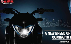Yamaha hé lộ hình ảnh của xe naked bike hoàn toàn mới