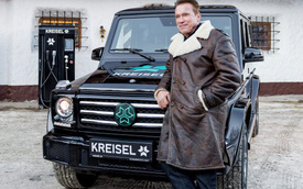 "Mercedes-Benz G-Class của ""kẻ hủy diệt"" Arnold Schwarzenegger được ""điện hóa"""