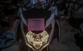 """Xe côn tay Yamaha V-Ixion 2017 bất ngờ """"hiện nguyên hình"""""""