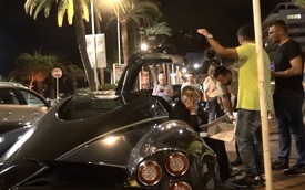 Thiếu gia bị nhân viên đỗ xe bắt chứng minh mình là chủ nhân của chiếc Pagani Huayra