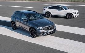 """Cặp đôi SUV hiệu suất cao Mercedes-AMG GLC63 và GLC63 Coupe 2018 """"hiện nguyên hình"""""""