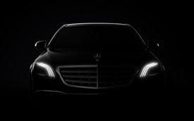 """Hình ảnh chính thức đầu tiên của xe """"hot"""" Mercedes-Benz S-Class 2018"""