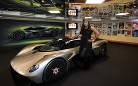 Rò rỉ hình ảnh nội thất của siêu phẩm nhà giàu Aston Martin Valkyrie