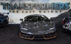 """Siêu phẩm Lamborghini Centenario xuất hiện trong buổi công chiếu """"Transformers"""" mới"""