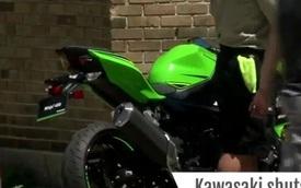Mô tô thể thao Kawasaki Ninja 400 2018 lộ diện trên đường phố