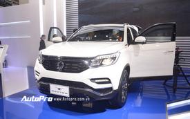 Trực tiếp: SsangYong gây chú ý với SUV cỡ trung G4 Rexton 2018 - đối thủ của Toyota Fortuner