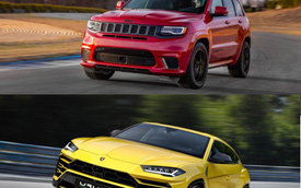 Cuộc chiến SUV giữa Lamborghini và Jeep: Urus là kẻ thua cuộc