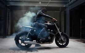 Thợ độ Việt biến hình Honda CB750 thành Cafe Tracker