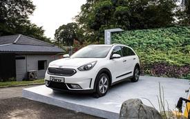 Xe crossover siêu tiết kiệm xăng Kia Niro ra mắt Đông Nam Á