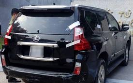 Lexus GX460 đâm vào tượng đài Cảm tử quân tại Hà Nội vào chiều mùng 3 Tết