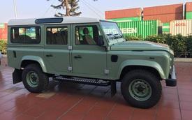 Thêm một chiếc Land Rover Defender bản cuối cùng xuất hiện tại Việt Nam