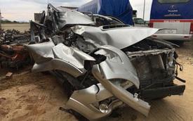 Lộ ảnh Toyota Fortuner nát bét nhưng túi khí không nổ khiến cư dân mạng xôn xao