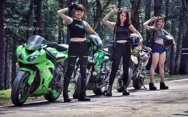 Gặp gỡ bộ ba nữ biker xinh đẹp đất Hà Thành