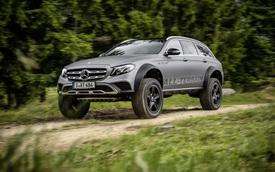 Mercedes-Benz E-Class được biến thành xe off-road vượt mọi địa hình