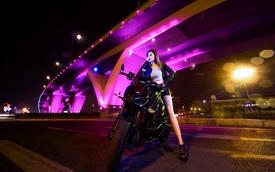 Nữ biker Việt cá tính bên Kawasaki Z1000