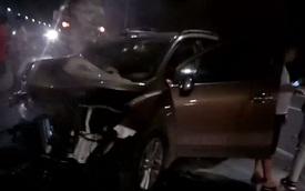 Chiếc Chevrolet Trax đầu tiên gặp nạn tại Việt Nam