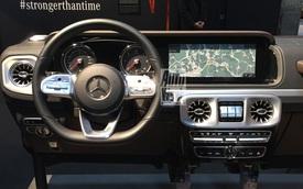 Lộ chi tiết nội thất Mercedes-Benz G-Class thế hệ mới