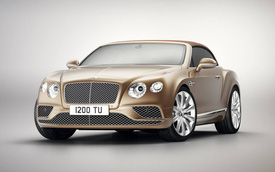 Bentley giới thiệu Continental GT Convertible Timeless Series mới