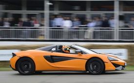 McLaren 570S mui trần chính thức trình làng tại lễ hội Goodwood