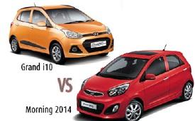 Ôtô dìm nhau: Hyundai Grand i10 ra hàng, Kia Morning liền giảm giá