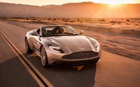 Cận cảnh vẻ đẹp xuất sắc của xe mui trần Aston Martin DB11 Volante mới