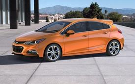 Chevrolet Cruze Hatchback 2018 phiên bản tiết kiệm nhiên liệu được báo giá