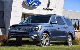 SUV 8 chỗ Ford Expedition 2018 lên dây chuyền sản xuất, sẵn sàng cạnh tranh Toyota Sequoia