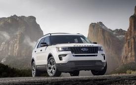 Ford Explorer 2018 trình làng, tiện nghi và an toàn hơn