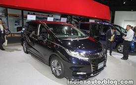Vén màn xe MPV Honda Odyssey 2018 có thể sẽ về Việt Nam
