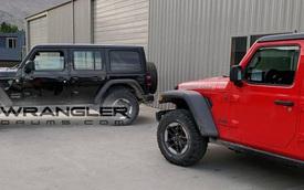 Xe việt dã Jeep Wrangler Unlimited Rubicon 2018 bị bắt gặp tại cây xăng dù chưa ra mắt