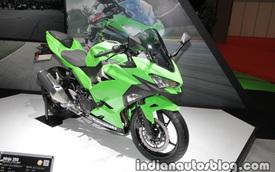 Kawasaki Ninja 250 2018 trình làng với thiết kế hoàn toàn mới, động cơ mạnh hơn