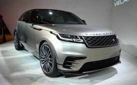 """Ngắm Range Rover Velar """"bằng xương, bằng thịt"""", cạnh tranh Porsche Macan"""
