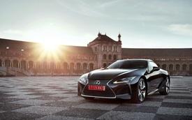 Xe sang Lexus LC Coupe 2018 được chốt giá từ 2,1 tỷ Đồng