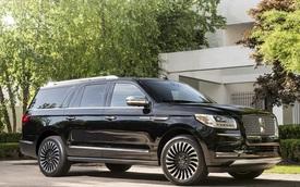 """""""Chuyên cơ mặt đất"""" Lincoln Navigator 2018 thêm đồ sộ với phiên bản kéo dài"""