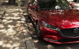 Lộ ảnh Mazda6 2018: thiết kế tinh chỉnh, động cơ tăng áp