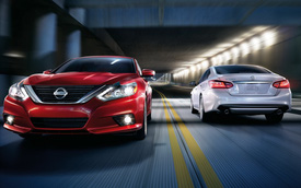 Nissan Teana phiên bản Mỹ được trang bị tốt hơn để cạnh tranh Toyota Camry và Honda Accord