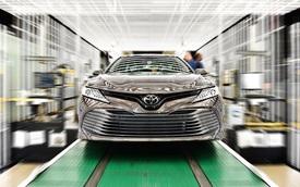 Toyota Camry 2018 bắt đầu lên dây chuyền sản xuất